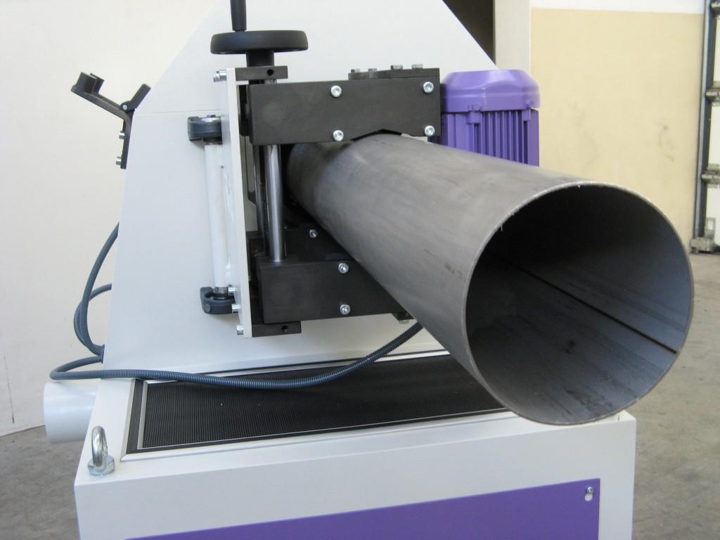 SZLIFIERKI DO RUR - ML150 - Minimalne wibracje nawet przy obróbce długich elementów