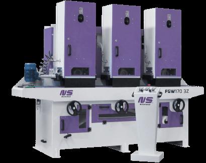 Flat Bar and Rectangular Tube Finishing machines – FGW170