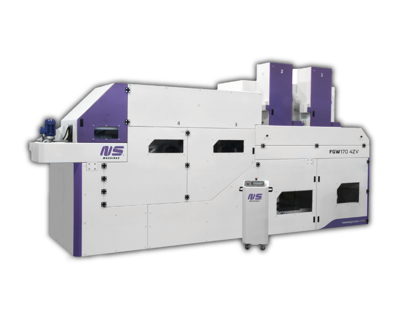 Flat bar and Rectangular Tube Finishing Machines - FGW170-4ZV