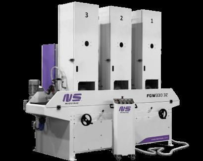Flat Bar and Rectangular Tube Finishing machines – FGW330-3Z