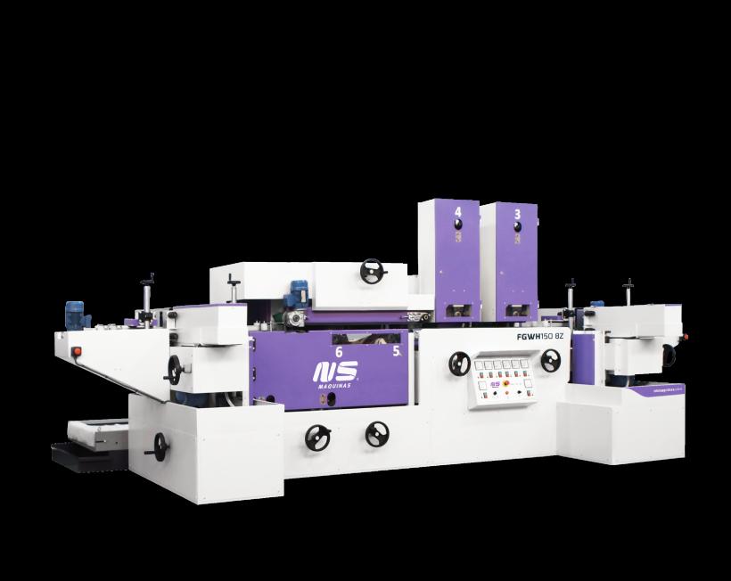 Flat bar and Rectangular Tube Finishing Machines - FGWH150-8Z