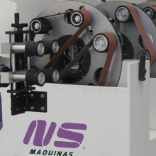 Round Tube Finishing Machine - ML100Z máquina esmeriladora de tubo