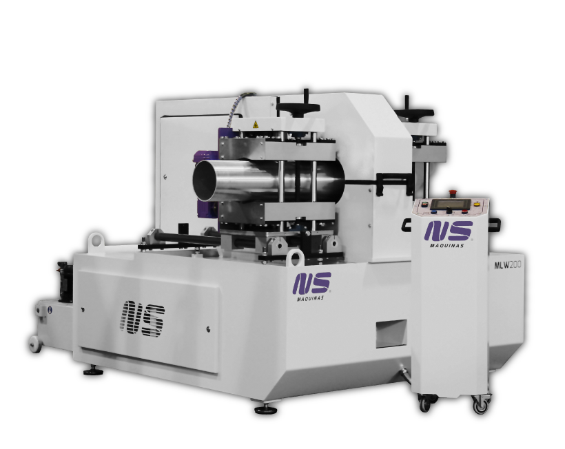 Round Tube Finishing Machines - MLW200