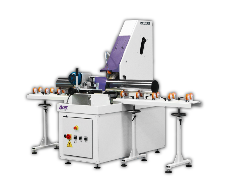 Round Tube Finishing Machines - RC200